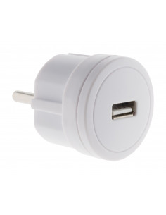 Chargeur USB 2,1A compact...